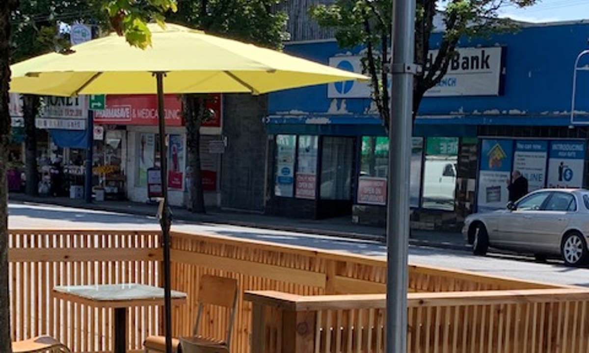 Baker & Table Café at 48th Avenue is the first to open a street patio